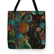 Bubble Tree - Spc01ct04 - Right Tote Bag
