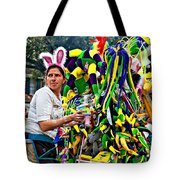 Bubbles And Bunny Ears Tote Bag