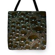 Bubbles Of Steam Black Tote Bag