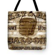 Bucket Of Blood Saloon Tote Bag