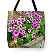 Bucket Of Blooms Tote Bag