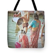 Bucket Wash Tote Bag