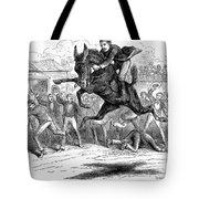 Bucking Mule, 1879 Tote Bag