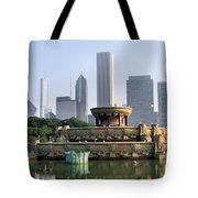 Buckingham Fountain - 1 Tote Bag