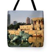 Buckingham Fountain - 3 Tote Bag