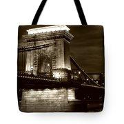 Budapest Nights Tote Bag