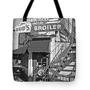 Bud'd Broiler New Orleans-bw Tote Bag