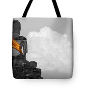 Buddha Contemplation Tote Bag