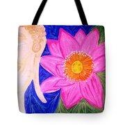 Buddha Lotus Peace Tote Bag