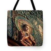 Buddha Relief Tote Bag