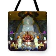 Buddha Statue Tote Bag