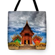 Buddha Temple Tote Bag