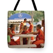 Buddhist Childhood Tote Bag