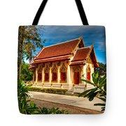 Buddhist Temple Tote Bag