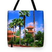 Buddhist Temple Tote Bag