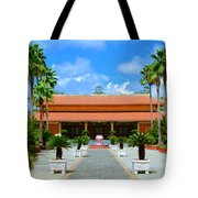 Buddhist Temple In Houston Tote Bag