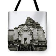 Buddhist Wat Chedi Luang Tote Bag