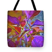 Budding Pink Tote Bag