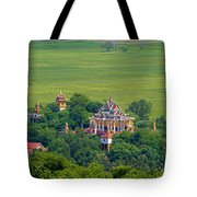 Buddist Temple Tote Bag