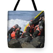 Buds Participate In Rock Portage Tote Bag