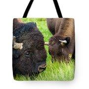 Buffalo Eyes Tote Bag