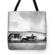 Buffalo Hunt, 1841 Tote Bag