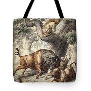 Buffalo & Lynx Tote Bag