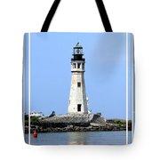 Buffalo Main Lighthouse Tote Bag