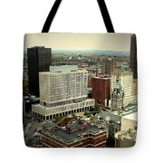 Buffalo New York Aerial View Tote Bag