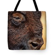 Buffalo Up Close Tote Bag