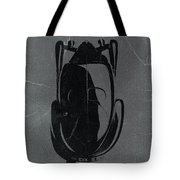 Bugatti 57 S Atlantic Top Tote Bag by Naxart Studio