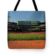 Bugs Eye View From Center Field Tote Bag