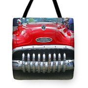 Buick With Teeth Tote Bag