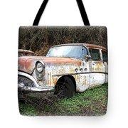Buick Yard Tote Bag by Steve McKinzie