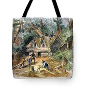 Building Houses, 17th C Tote Bag