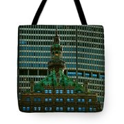 Building Upon Building Tote Bag