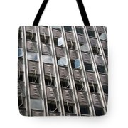 Building With Many Squares Tote Bag