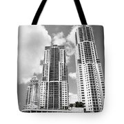 Buildings Downtown Miami Tote Bag