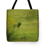 Bull Moose On The Loose  Tote Bag
