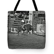 Bull Rider Tote Bag