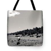 Bull With Buffalo Tote Bag