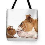 Bulldog & Guinea Pig Tote Bag