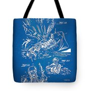 Bulletproof Patent Artwork 1968 Figures 18 To 20 Tote Bag