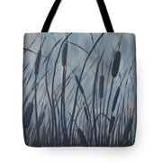 Bullrush Blues Tote Bag