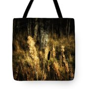 Bullrushes To Seed Tote Bag