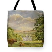 Bulls At Balmoral Tote Bag