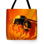 Bumblebee On Flower Tote Bag