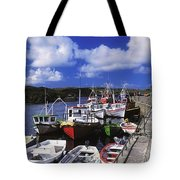 Bunbeg, Donegal, Ireland Harbour Of A Tote Bag