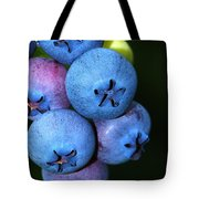 Bunch Of Blueberries Tote Bag