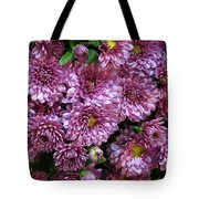 Bunch Of Chrysanths Tote Bag